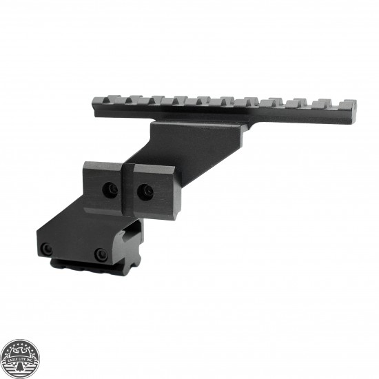 Universal Pistol Scope Mount With Side Mount