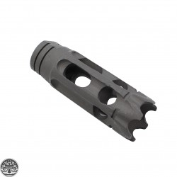AR-15 1/2X28 Steel 10 Holes Custom Muzzle Brake