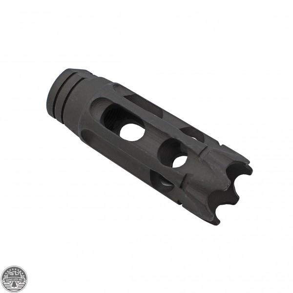 "AR-10 5/8""x24 Steel 10 Holes Custom Muzzle Brake"
