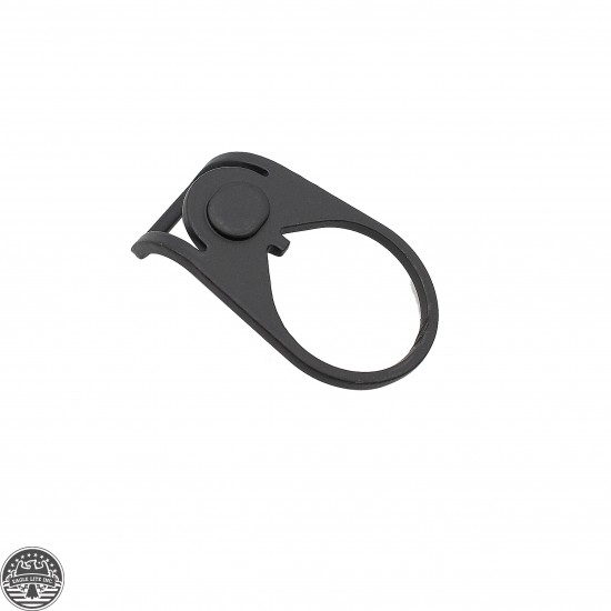 Ambidextrous Sling Adapter End Plate W/ Large 180 Degree Loop