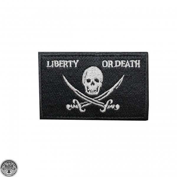 """LIBERTY OR DEATH""  -Patch"