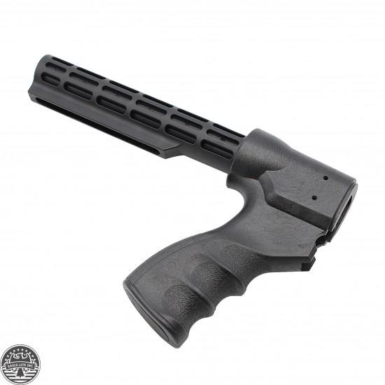 Remington 870 12 Gauge Pistol Grip W/ 6-Position Commercial Stock Tube