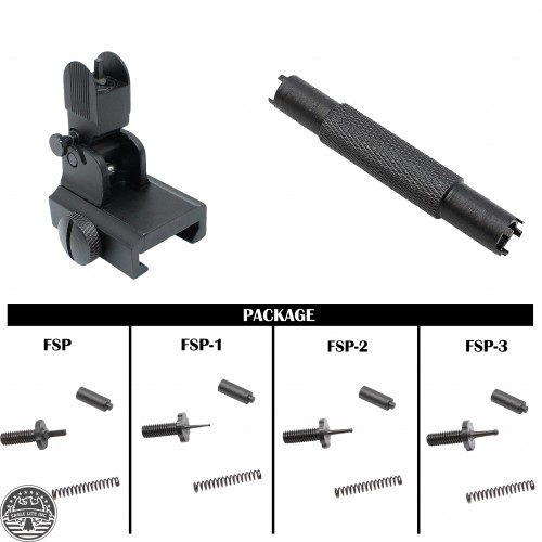 AR-15 A2 FRONT FLIP UP SIGHT PACKAGE