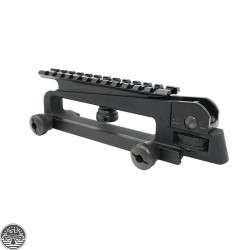 Weaver Picatinny Rail Flattop QD Quick Release Carry Handle w/ Rear Sight/mount