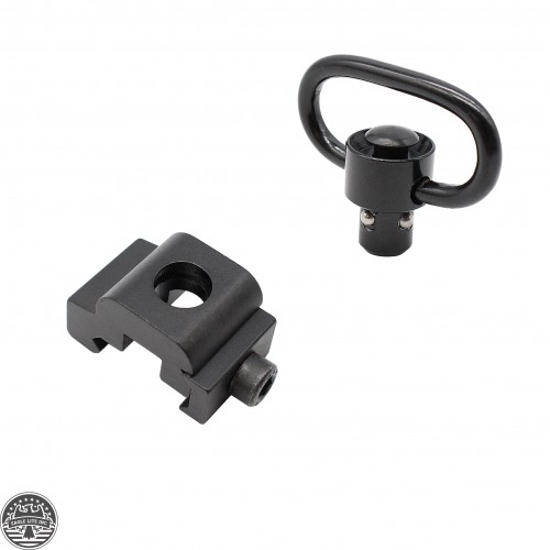 Push Botton QD Sling Swivel w/Base