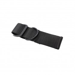 Universal Stock Sling Adapter Heavy Duty Nylon Webbing With Robust Metal Ring- Black