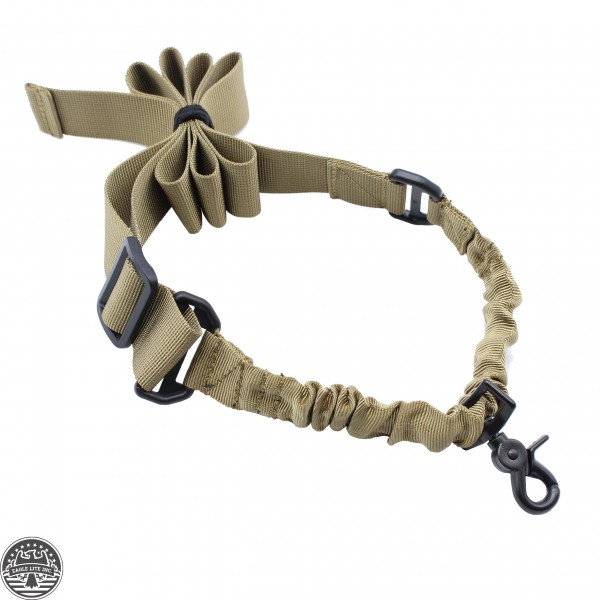 One Point Tactical Bungee Sling Tan