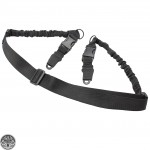 Tactical HK Style 2-Point Adjustable Rifle Bungee Sling W/ Quick Release