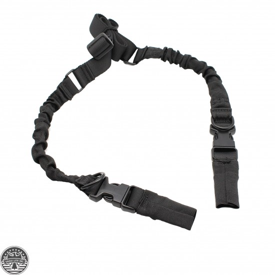 Tactical HK Style 2-Point Adjustable Rifle Bungee Sling W/ Quick Release New