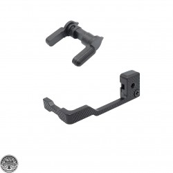 AR-15 Semi-Auto Safety Selector Lever + Extended Bolt Catch & Release Lever