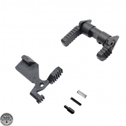 AR-15 Enhanced Safety Selector and Bolt Catch Upgrade Combo