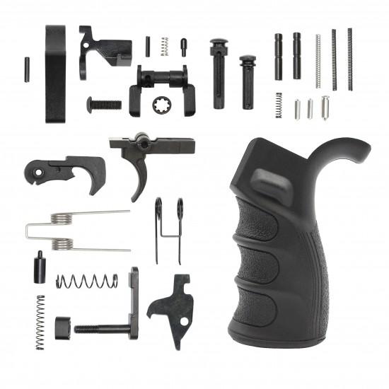 AR-10 / LR-308 Enhanced Ambidextrous Lower Build Kit W/ MAGPUL MOE Stock | Mil-Spec