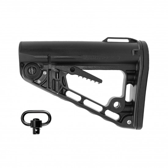 Rogers Super-Stoc Deluxe AR-15 Collapsible Stock W/ QD Swivel   Made In U.S.A.
