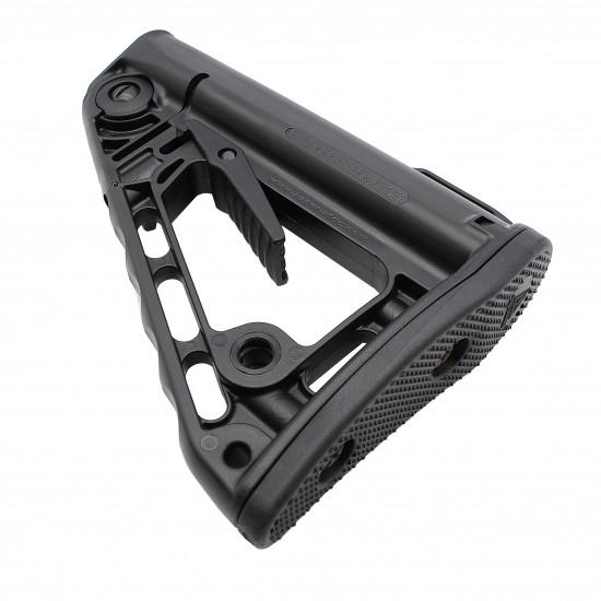 AR-10 / LR-308 Enhanced Ambidextrous Lower Build Kit W/ Rogers Super-Stoc Deluxe Rifle Stock | Mil-Spec