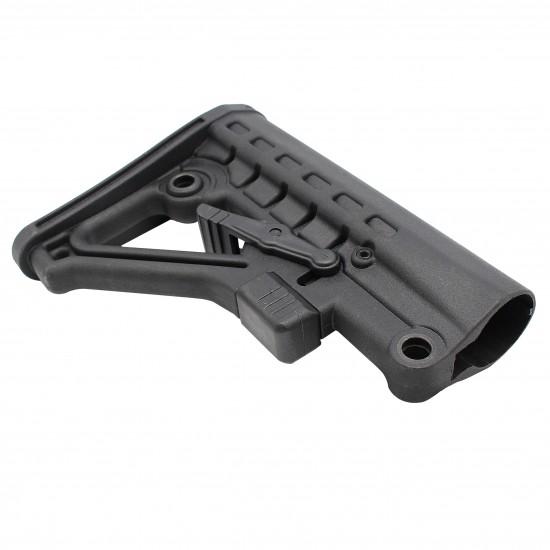 AR-10 / LR-308 Rifle Carbine 6 Position Buffer Tube Kit With Predator Buttstock | Commercial-Spec