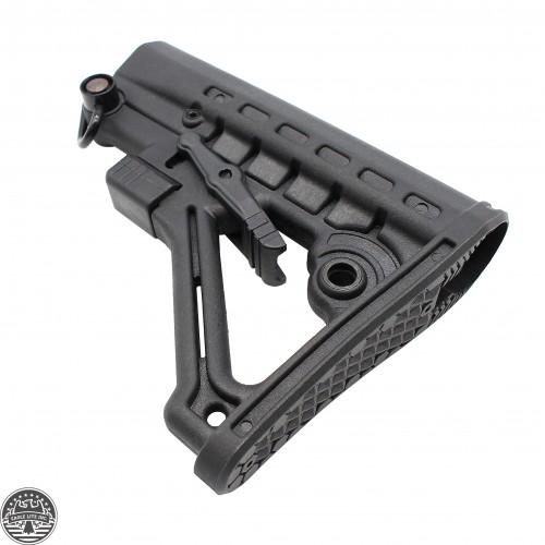 AR-15 .223 5.56 Commercial 6 Position Butt Stock With QD Attachment Sling Swivel