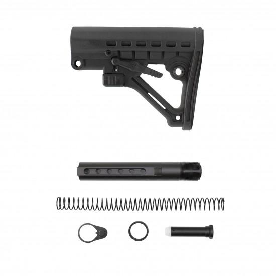 AR-15 .223 5.56 Mil-Spec Butt Stock and Complete Mi-Spec Buffer Tube Kit