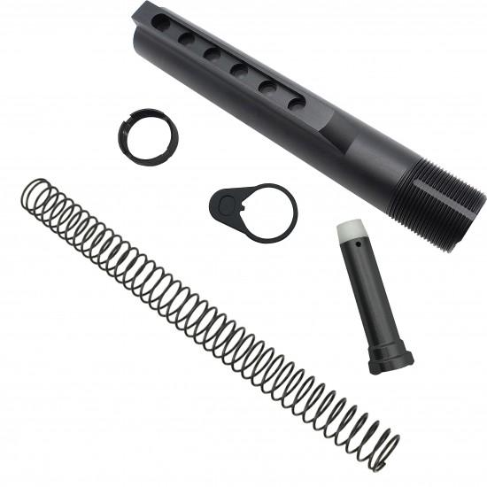 AR-15 .223/5.56 Standard Lower Build Kit W/ Blackhawk Knoxx Stock | Mil-Spec