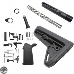 Lower Build Kit With Magpul Stock And Pistol Grip