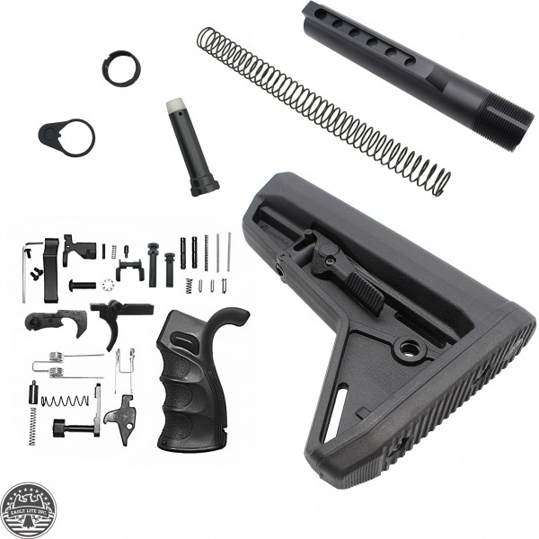 Lower Build Kit - Magpul SL Stock And Ambidextrous Lower Parts Kit