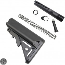 AR-15 Sopmod Buttstock Mil-Spec W/Buffer Tube Kit