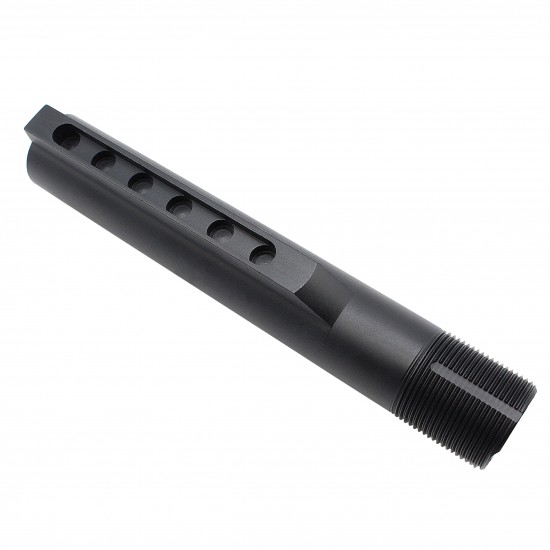 AR-10 / LR-308 Rifle Carbine 6 Position Buffer Tube Kit With SOPMOD Buttstock | Mil-Spec