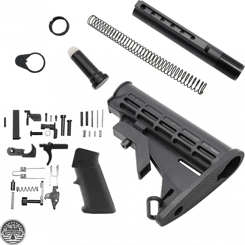 AR-10 Standard M4 Style Lower Build Kit