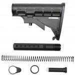 AR-15 Mil-Spec Carbine Stock W/ 6 Position Buffer Tube Kit