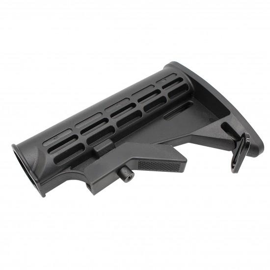 AR-10 / LR-308 Rifle Carbine 6 Position Buffer Tube Kit With Stock   Mil-Spec