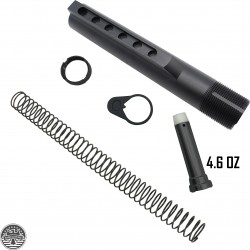 AR-15 Mil-Spec Buffer Tube Kit Heavy Duty 4.6 oz Buffer
