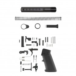 AR-15 .223/5.56 Complete Mil Spec Buffer Tube Kit W/ Lower Parts Kit Option