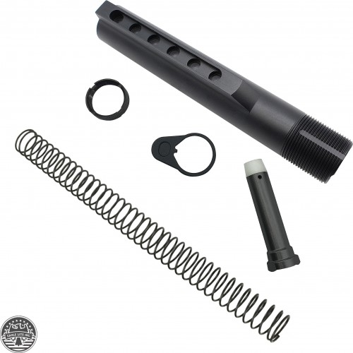 AR-15 6 Position Mil Spec AR-15 Carbine Rifle Buffer Tube Kits