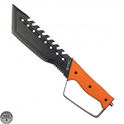 Orange Machete Knife