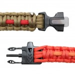 Paracord With Fire Starter And Whistle