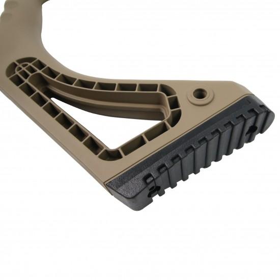 AR-15 | AR-10 Featureless California Compliant Stock | TAN