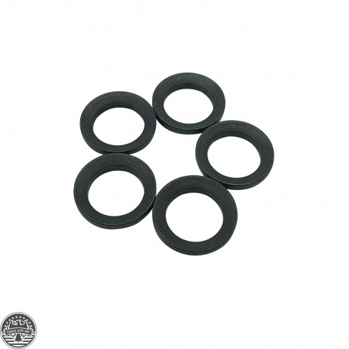 "AR 15 223/5.56 1/2""x28 Thread Steel Crush Washer(one package of five pcs)"