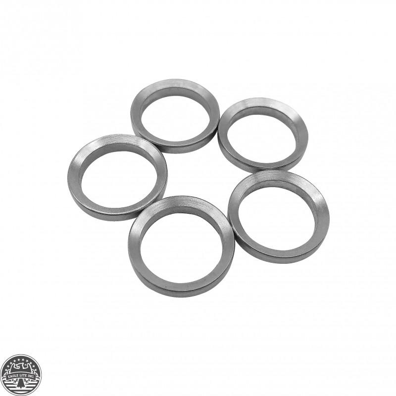5 Pcs Stainless Steel 308 308 Muzzle Brake Crush Washer
