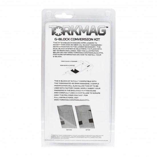 TORKMAG 9mm Glock magazine Conversion Kit