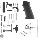 AR-15 Standard Lower Receiver Parts Kit W/ JMT Saber Single Stage Drop In Trigger