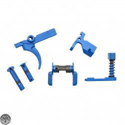 Cerakote NRA BLUE | AR-15 Cerakote Lower Parts Bundle