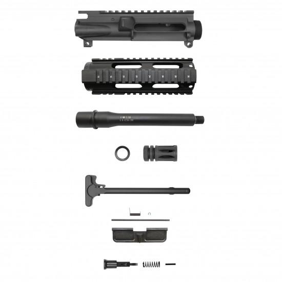 AR 9mm 7.5'' Barrel W/ 7'' Free Float Handguard   Pistol Upper Build UPK43 [ASSEMBLED]