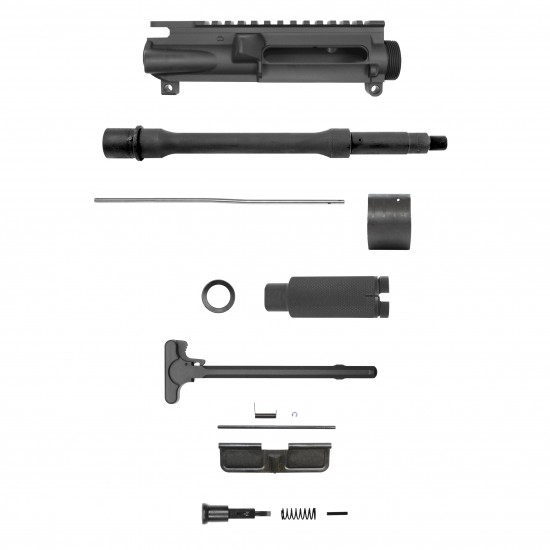 AR-15 5.56 10.5'' Barrel W/ 10'' 12'' Keymod Handguard option | Pistol Upper Build UPK11 [ASSEMBLED]