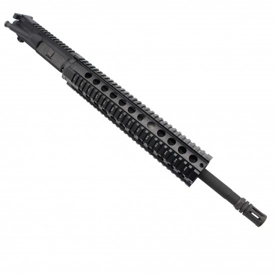 AR-15 5.56 16'' Barrel W/ 10'' 12'' 15'' Quad Rail Handguard option   Carbine Upper Build UPK15 [ASSEMBLED]