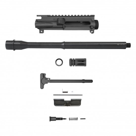 AR 9mm 16'' Barrel W/10'' 12'' 15'' Keymod Handguard Option | Carbine Upper Build UPK41 [ASSEMBLED]