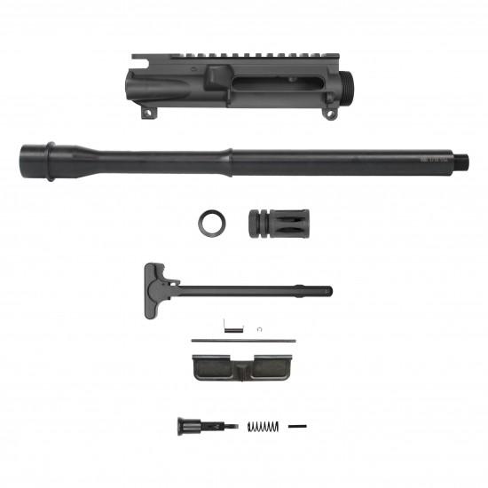AR 9mm 16'' Barrel W/ 10'' 12'' 15'' M-LOK Handguard option   Carbine Upper Build UPK42 [ASSEMBLED]